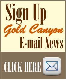 Sign Up for Gold Canyon Arizona e-mail news